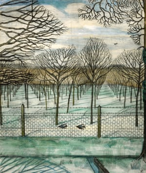 The Cherry Orchard, 1917 by Paul Nash.