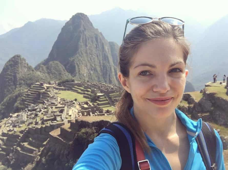 Hiking in Machu Picchu, 2019.