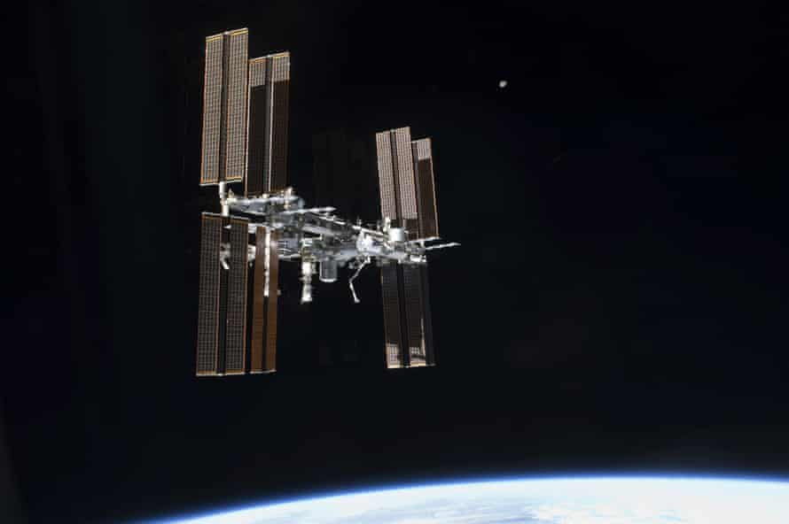 The crew on the International Space Station will give Nasa's new space toilet a go.