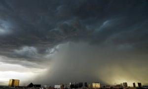 vegas storms
