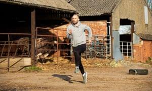 Dai Greene works on his sprinting