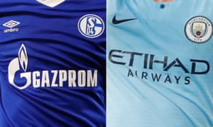 Schalke face Manchester City in the Champions League last 16.