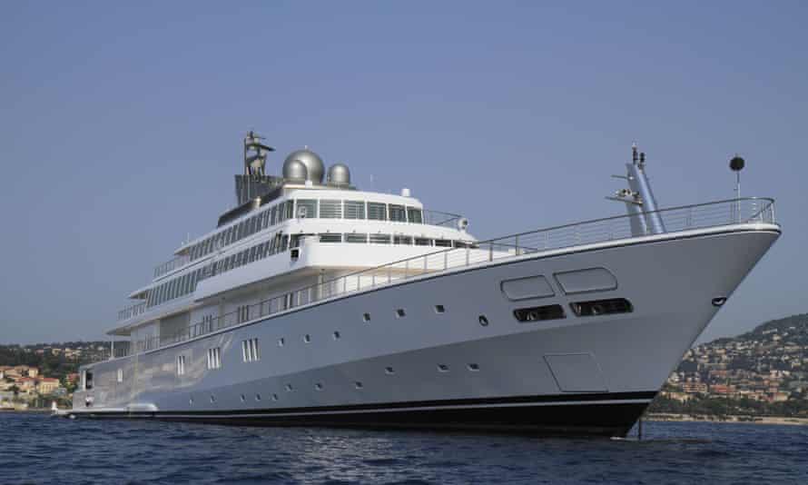 David Geffen's superyacht, Rising Sun