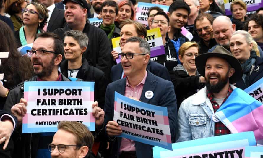 Trans legislation Victoria