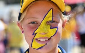 Sunshine Coast Lightning fan Lily Thomas