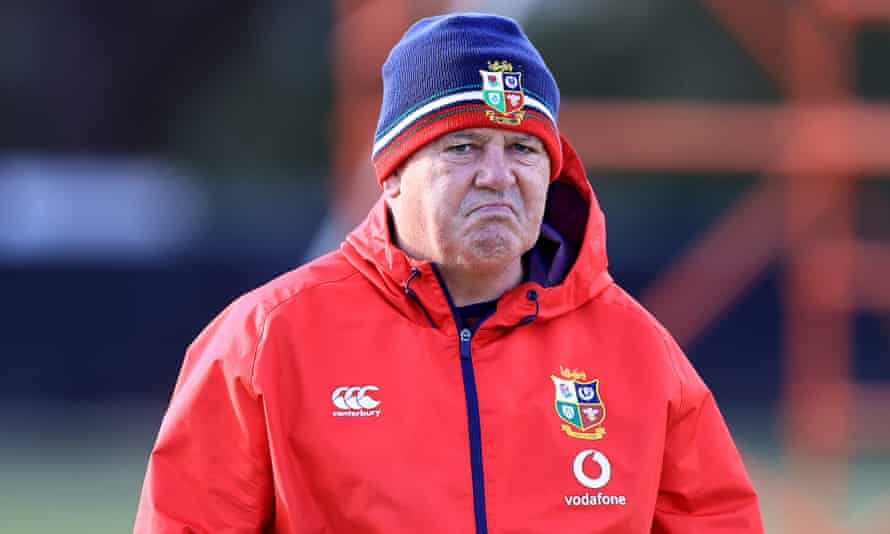 Warren Gatland oversees coaching this week as the British & Irish Lions prepare for Saturday's first Test against South Africa.