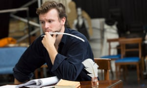 Austen powers … Matt Whitchurch as Mr Darcy in rehearsal for Pride and Prejudice.