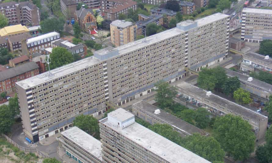 The Heygate estate in Southwark
