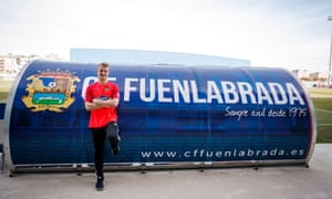 Conor O'Keefe was invited to train with Fuenlabrada after a concerted effort to join the club. 'They told me they had four golden envelopes from me: two each for the manager and the goalkeeper coach.'