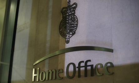 Home Office sign in Westminster, London
