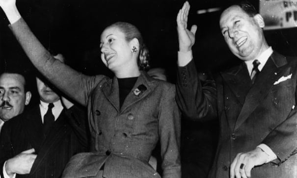 Shadow of Perón looms large over Argentina's presidential