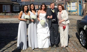 Roy and co in Coronation Street