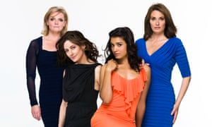 From left: Trudi, Siobhan, Jessica and Katie in Mistresses