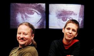 Belarus Free Theatre founders Nikolai Khalezin and Natalia Kaliada.