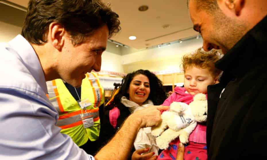 One year ago this week, 163 Syrian refugees were greeted at the airport by Justin Trudeau.