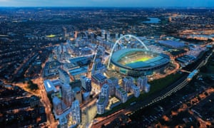Quintain's 85-acre development in Wembley, north-west London