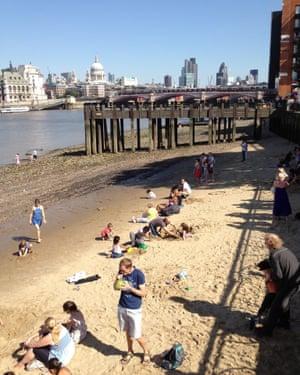 southbank beach, London