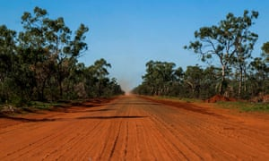 File photo of the South Australian outback