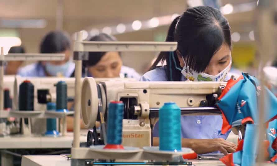Gold standard: Deuter's factory in Vietnam. Deuter is an outdoor wear company that has dealt with excessive overtime (a major trigger for harassment and abuse) and is an example of good practice and how brands can influence change.