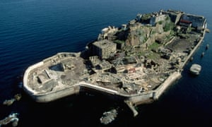 Japan's Hashima Island was abandoned in 1974 when its coal supplies ran out.
