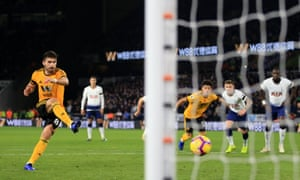 Ruben Neves pulls one back from the spot...