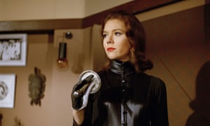 Diana Rigg in The Avengers, 1965.
