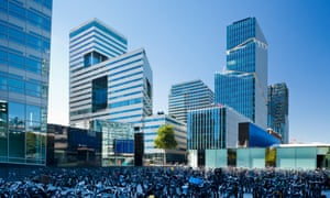 Office buildings in Amsterdam