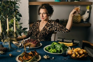 Grace Dent: 'Christmas dinner shall arrive under a variety of cloches, and no one will burp or bicker'