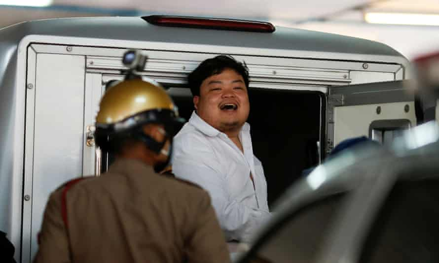 Parit Chiwarak, one of the leaders of Thailand's recent anti-government protests.