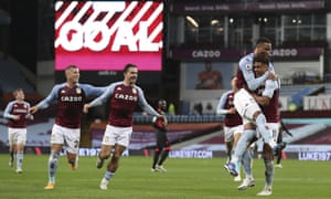 Aston Villa 7 2 Liverpool Premier League As It Happened Football The Guardian