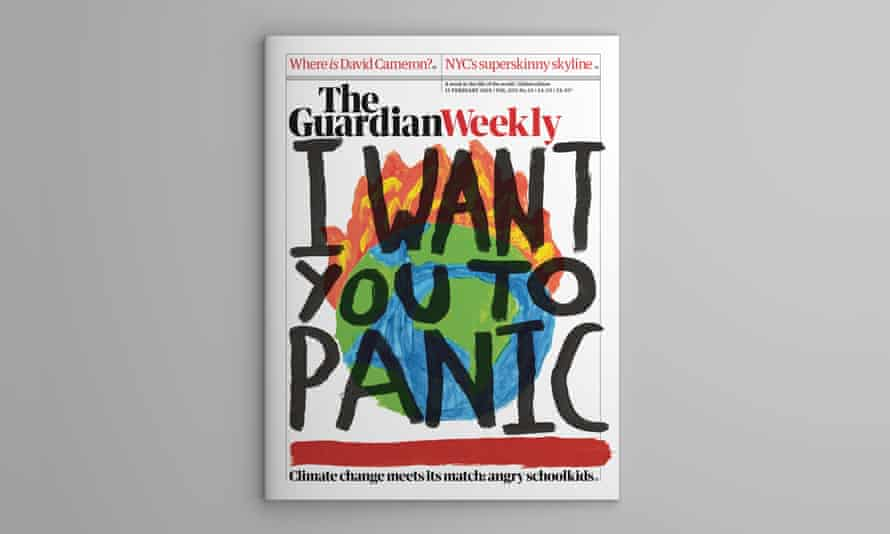 Cover for 15 February edition of the Guardian Weekly