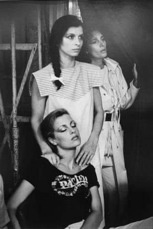Showgirls by Ute Mahler (Mecklenburg, Germany, 1980)