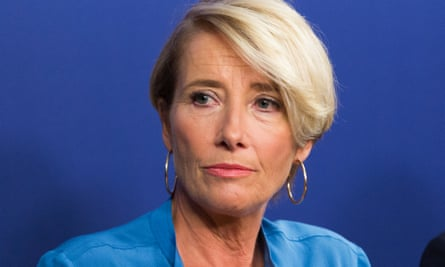Emma Thompson pulled out of a role in the large-scale animated film.