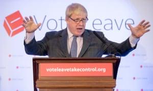 Boris Johnson campaigns in Bristol