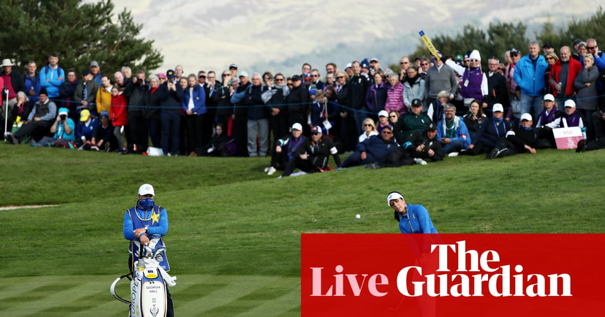 Solheim Cup 2019: Europe v USA battle going to the wire – live!