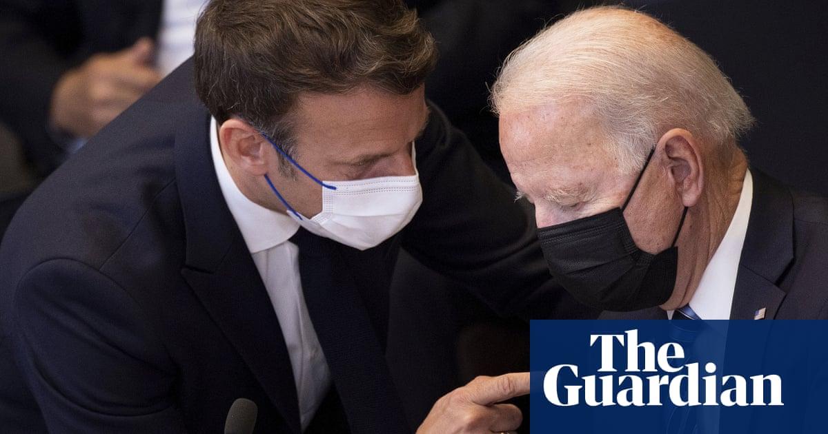 Aukus pact: Emmanuel Macron to demand 'clarifications' from Joe Biden