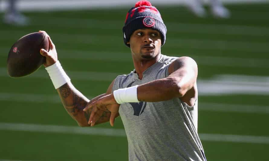 Deshaun Watson has been with the Texans since 2017
