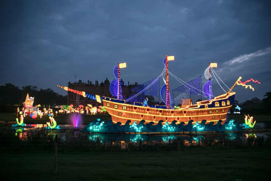 The Festival Of Light at Longleat