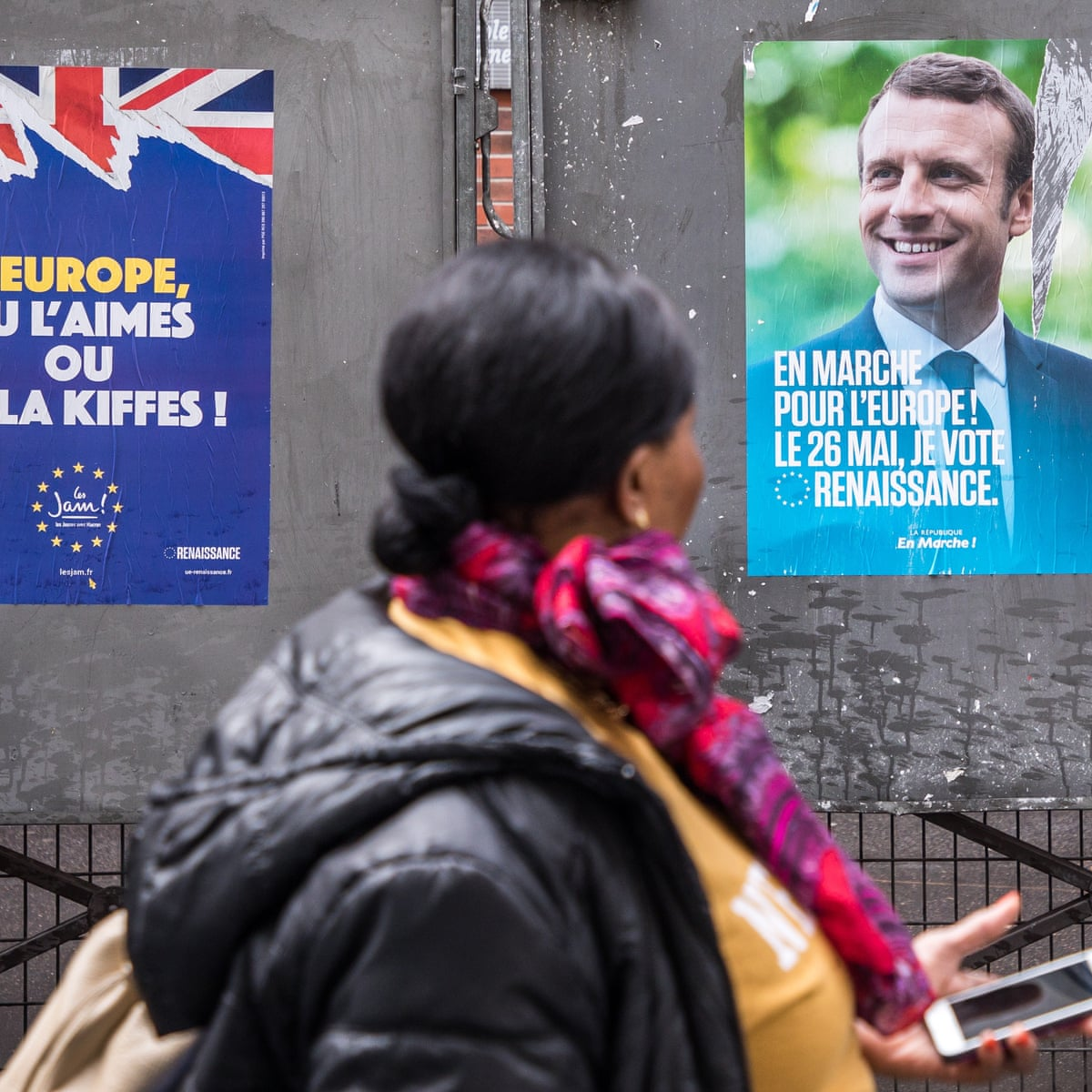 Macron S Vision For Europe Faces Test In French Eu Elections European Parliamentary Elections 2019 The Guardian