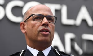 Neil Basu, UK's most senior counter-terrorism officer