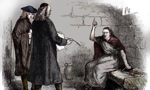 Martha Corey And Her Prosecutors, Salem, Massachusetts
