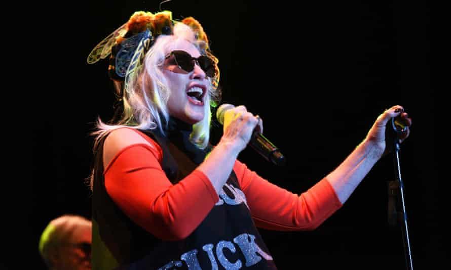 Debbie Harry on stage