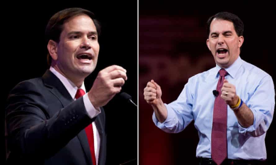 Marco Rubio and Scott Walker