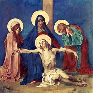 Mystical miracle man … Jesus Taken Down from the Cross by Martin Feuerstein (c1898).