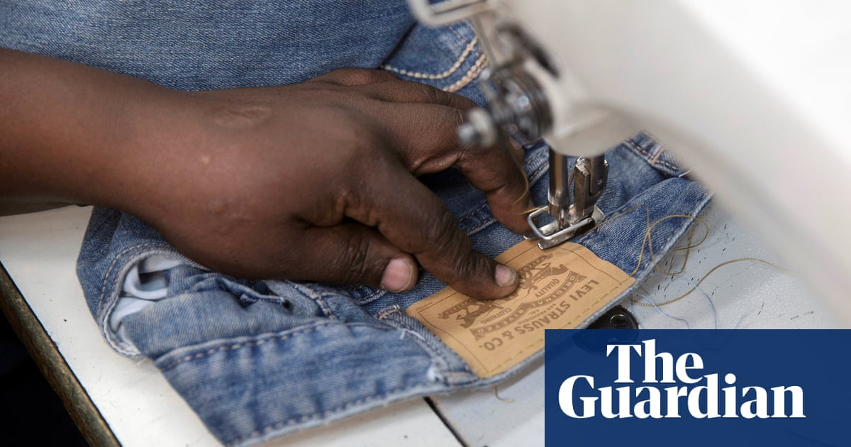 Inside a denim factory in Nairobi – in pictures | Fashion | The Guardian