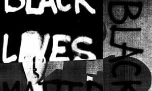 Black Dada Flag (Black Lives Matter) by Adam Pendleton.
