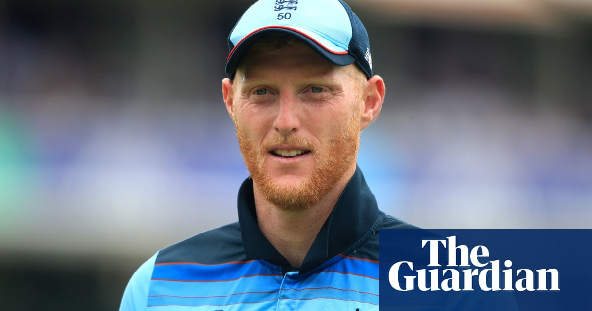 It puts things in perspective: England supporting Stokes after fathers illness