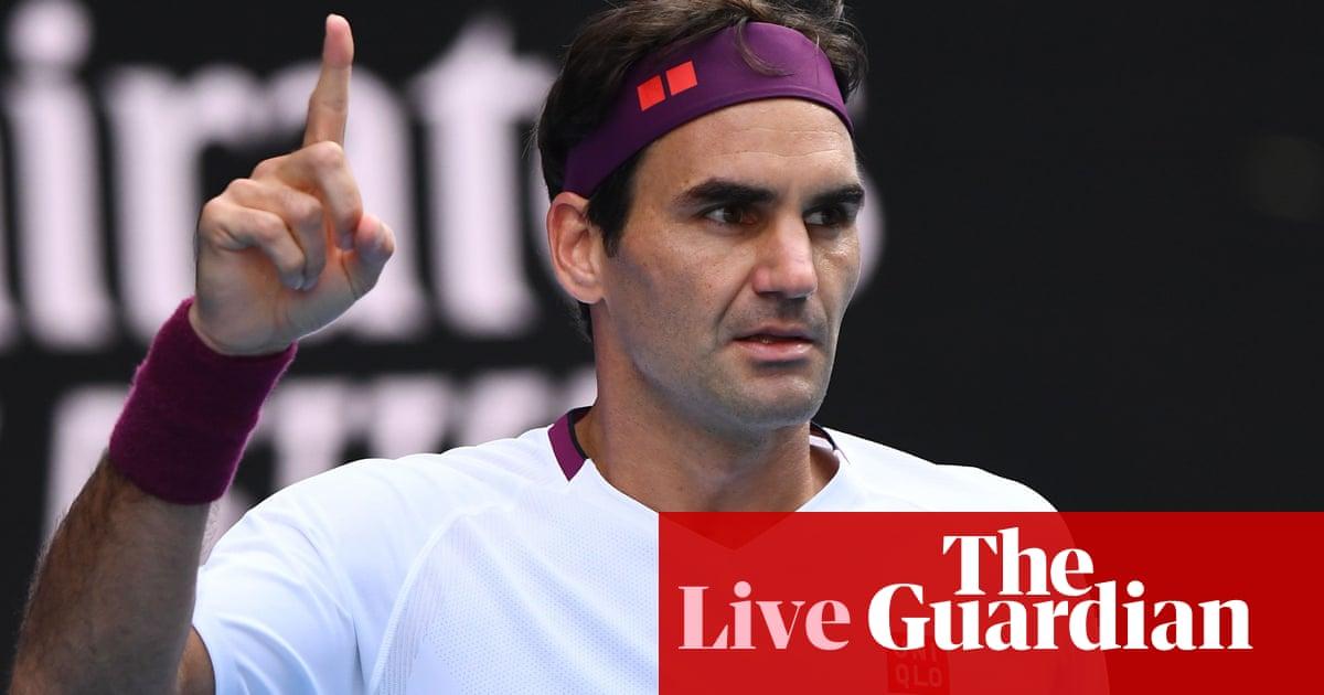 Australian Open day nine: Federer v Sandgren into fifth set, Barty beats Kvitová – live!