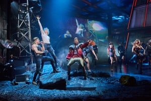 Fiendish fun … Bat Out of Hell invited theatregoers to sing along.