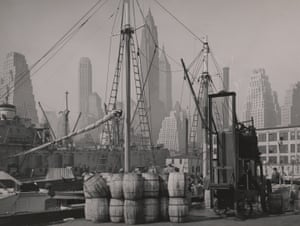 Fulton Fish Market Wharf, 1946